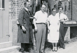 Employees 1933 - first foreign connections