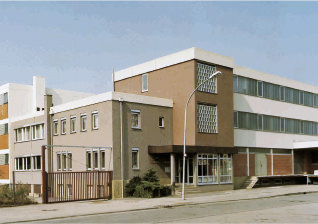 Company building 1980 - in 1983 LANGRO-CHEMIE celebrates its 50th anniversary