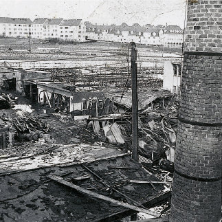 - destruction of the company building 1944